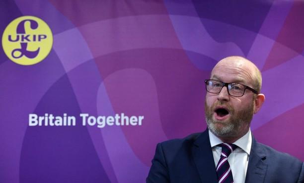 Weer oud-leider UKIP opgestapt om Robinson