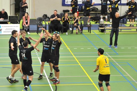 Overuren voor rekenmeesters van volleyballers Zaanstad