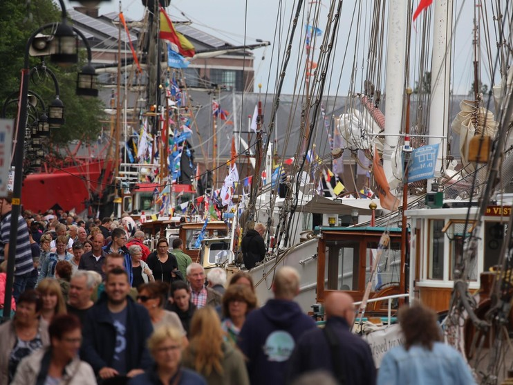 Drukte zaterdag op Sail Den Helder en Marinedagen