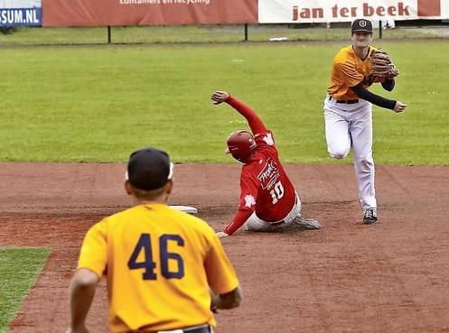 Achtste inning fataal voor DSS in Bussum