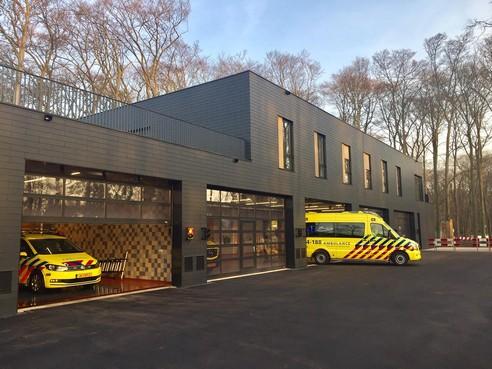 Nieuwe ambulancepost in gebruik genomen in Hilversum [video]