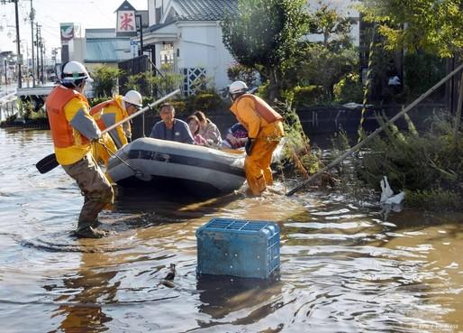 Zeker 35 doden door tyfoon Hagibis in Japan