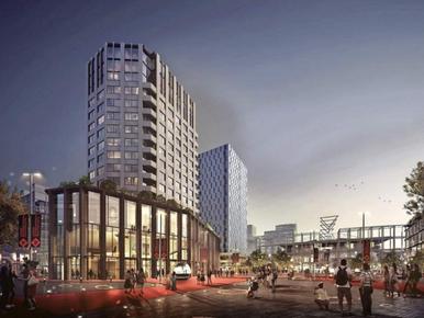 Nieuwe bioscoop bij Leiden Centraal