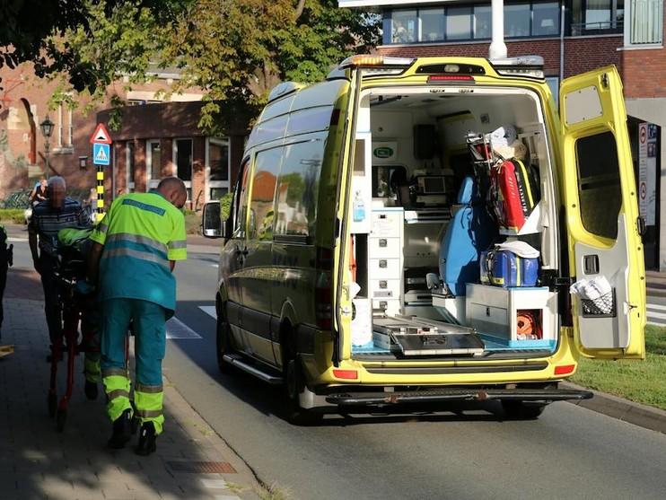 Fietsster gewond bij harde val in Noordwijkerhout