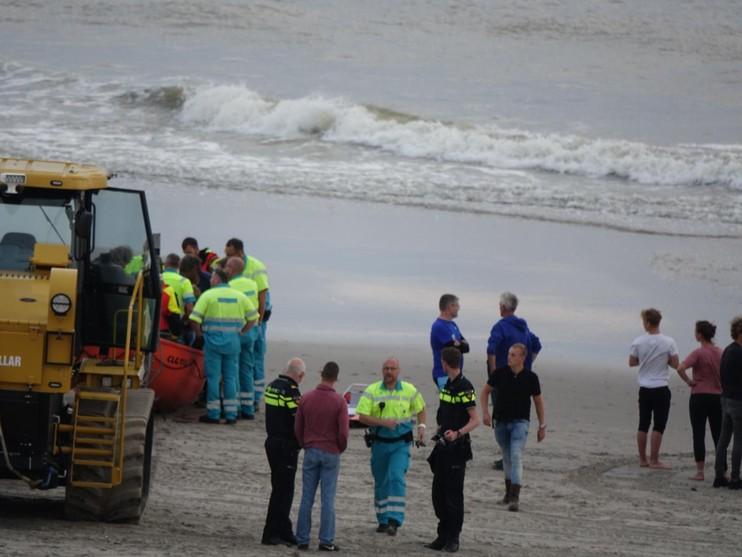 Medewerker reddingsbrigade Callantsoog raakt gewond tijdens oefening