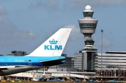 Recordaantal passagiers bij KLM in 2018