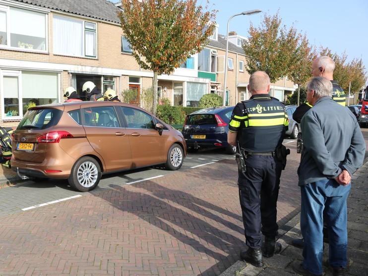Brandweer rukt uit voor gaslekkage in Noordwijk