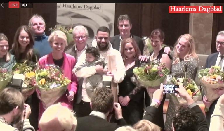Okrah Donkor verkozen tot Haarlems Dagblad Man van het Jaar 2018 [video]
