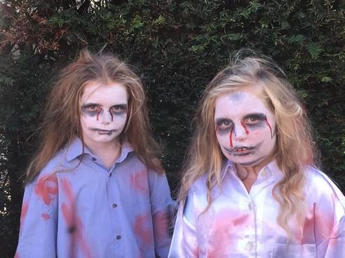 Griezelen op Halloweenfair in Hem