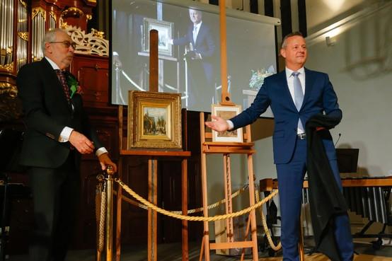 500-jarige Oosterkerk geeft Hoornse gemeenschap schilderij van Springer cadeau