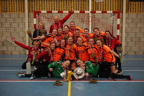 A-junioren VZV groeien moeiteloos mee in collectieve successen van handbalclub