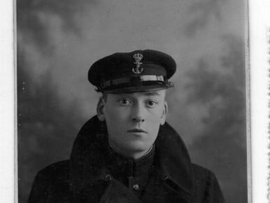 Marinier Wim Thijssen in 1932.