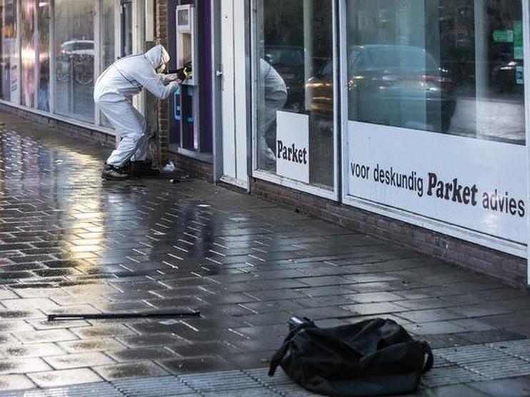 Mislukte plofkraak bij SNS Bank in Bussum