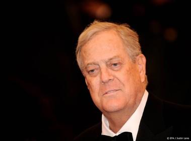 Amerikaanse miljardair David Koch overleden