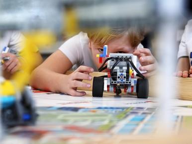 Baggerbusters scoren goed in Lego League