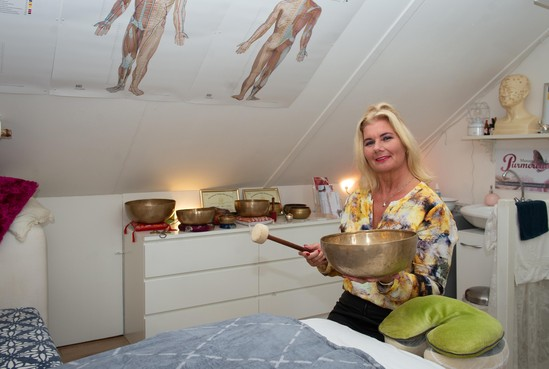 Annemieke, tien jaar massage als therapie