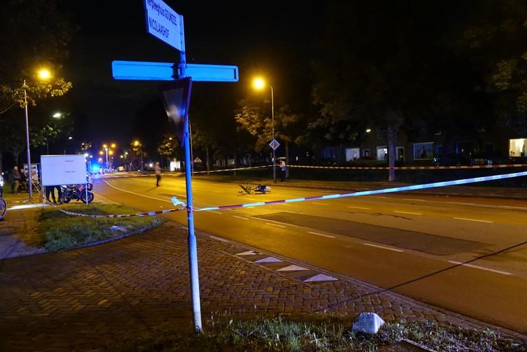 Fietser ernstig gewond bij ongeluk in Volendam