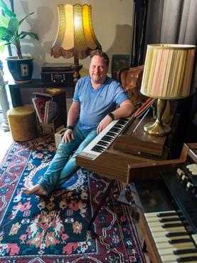 PublieksEdison voor Blue van Preacher Men en organist Rob Mostert