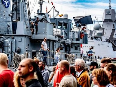 'Gezellig druk' op Wereldhavendagen Rotterdam