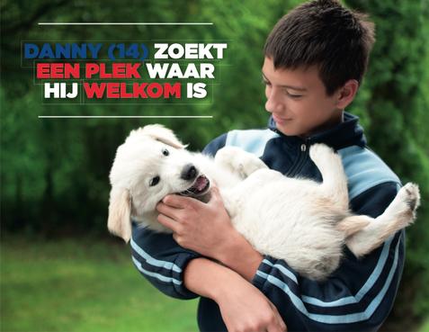 Kenter zoekt voor Danny (14) een support-gezin in Haarlem