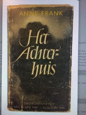 Fraaie eerste druk Het Achterhuis van Anne Frank duikt op bij veiling Haarlem