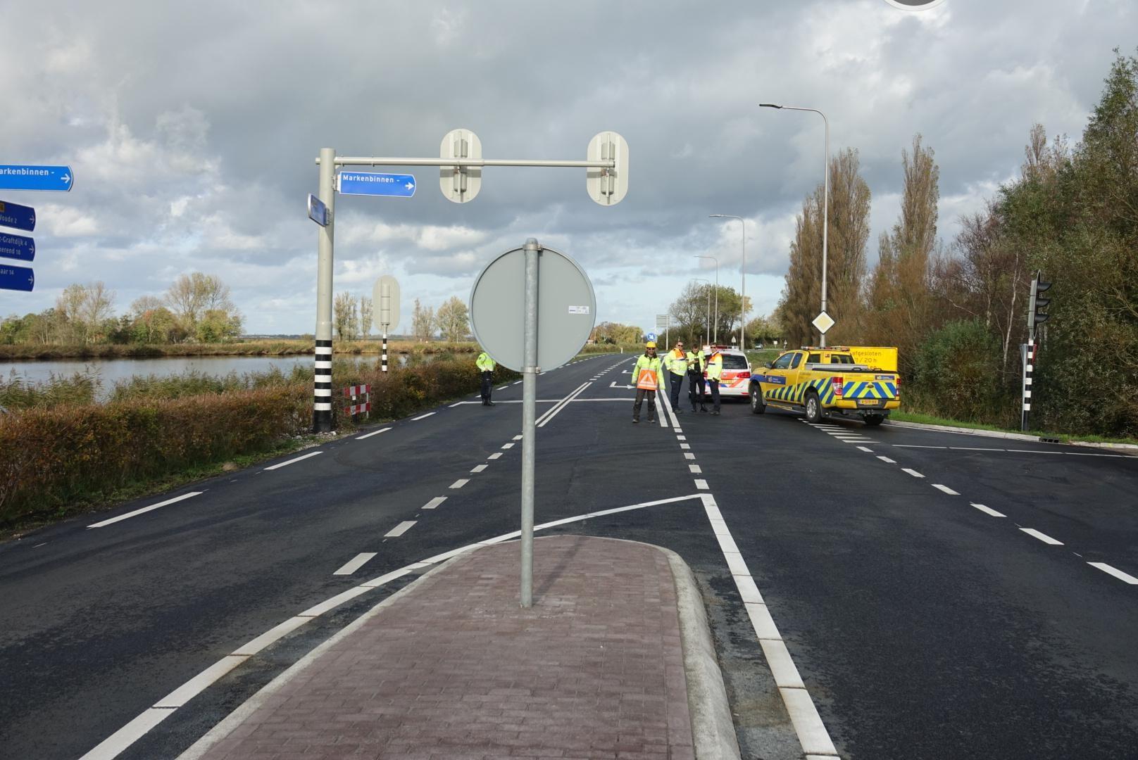 N246 weer open na gaslek in De Woude - Noordhollands Dagblad