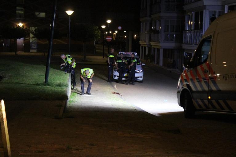 Fietser zwaar gewond na val in Hoorn