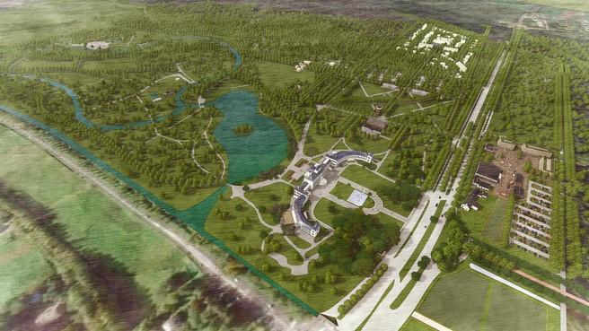 Masterplan voor Paleis Soestdijk is gepresenteerd: follies, auditorium en hotelkamers