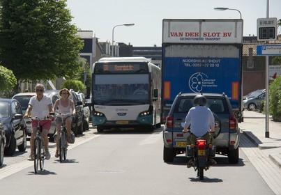 Vrachtverkeer blijft in Brouwerstraat: 'Verbod komt er niet omdat effect gering zal zijn'