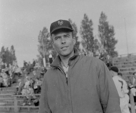 Toppitcher Smidt was honkbalpionier
