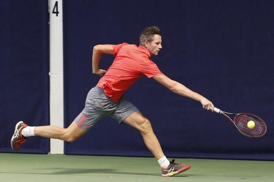 Bij het NK Senioren tennis worden 'jong' én oud toegejuicht