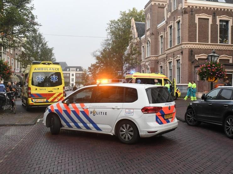 Gas gemeten in pand Weeshuishof in Leiden