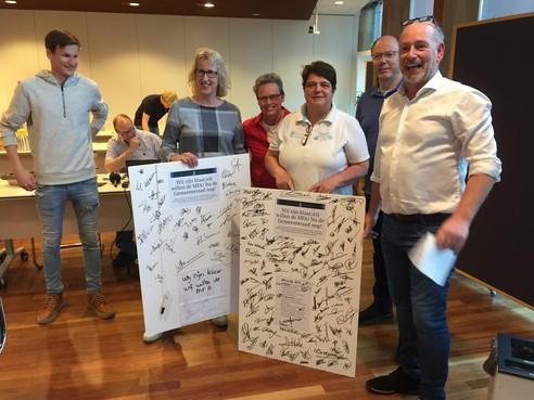 Petitie voor extra krediet dorpsgebouw in Zwammerdam: 'Het ontwerp heeft geen gouden kranen'
