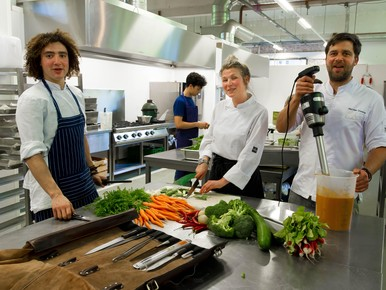 Flexkeuken, werkplek voor 'chef' en thuiskok