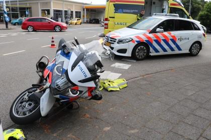 Scooterbestuurder aangehouden in Lisse na achtervolging en ongeluk