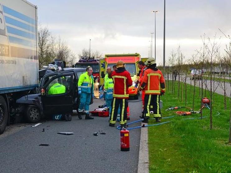 Man overleden bij ongeval Schiphol-Rijk