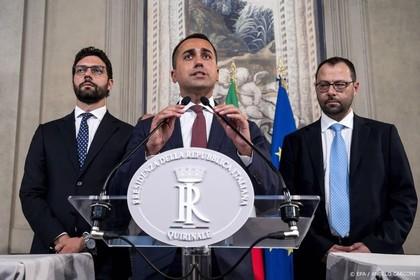 M5S-partij Italië: we laten schip niet zinken