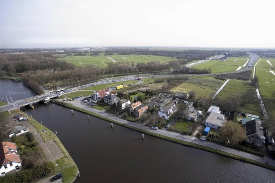 Lammebrug Leiden minder vaak open in de spits