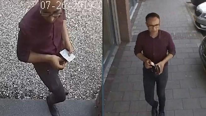 Man berooft 85-jarige vrouw thuis van haar portemonnee in Soest: foto vrijgegeven