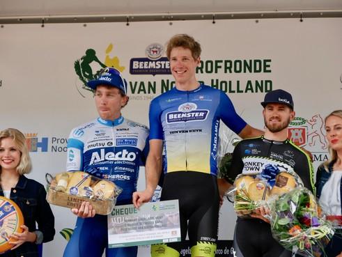 Ivar Slik wint niet, maar is toch de beste in de Ronde van Noord-Holland