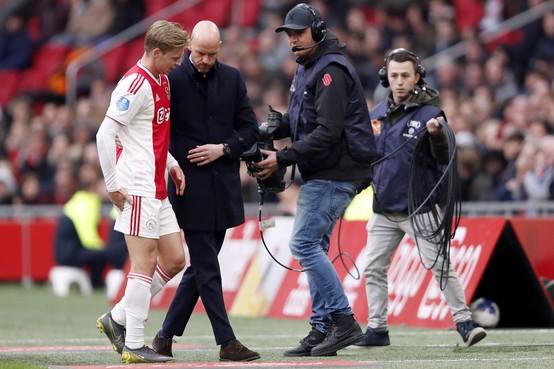 Frenkie de Jong met Ajax mee naar Turijn