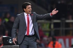 Chris Coleman geeft de voorkeur aan zijn baan als bondscoach van Wales. © AFP