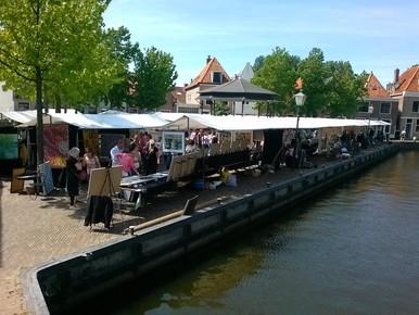 Zaterdag kunstmarkt en muziek in Spaarndam