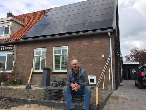 Cees Besseling uit Nibbixwoud is kampioen duurzaamheid: 'Energieverlies? Check de deurbel'