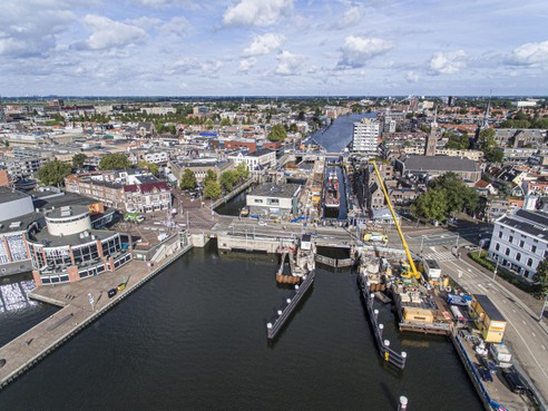 Wilhelminabrug in centrum Zaandam vanaf maandag afgesloten