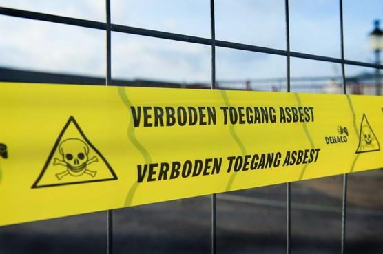 Asbest gevonden in oude kleedkamers op sportpark De Linie in Den Helder