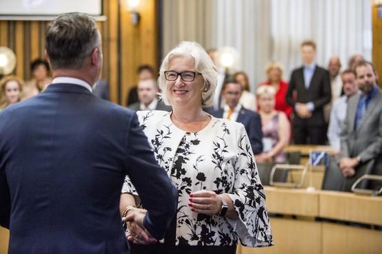 Marianne Schuurmans geïnstalleerd in Haarlemmermeer: 'Ik ben uw trotse burgemeester'