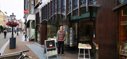 Mayflower Bookshop vreest gevolgen bouwplan buren: ,,Kleine ondernemers gaan kapot''