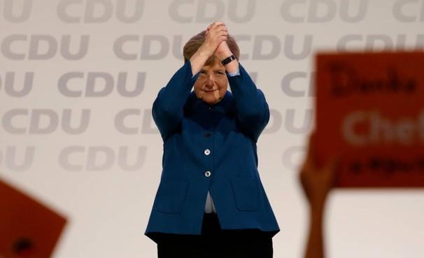 Merkel neemt afscheid: het was een eer