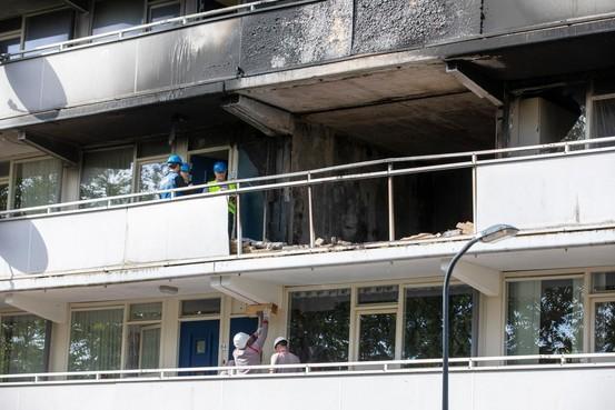 Openbaar Ministerie: Arrestant was bewoner van flat in Rudolf Steinerstraat Haarlem